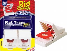 Big Cheese Rat Trap Twin Pack