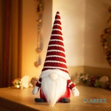 Red Gonkert Christmas Figure