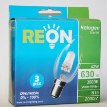 Reon Candle B15 Bulbs 3 pack