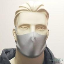 Reusable Fabric Face Mask Grey