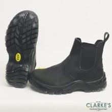 RGP Black Leather Dealer Boots