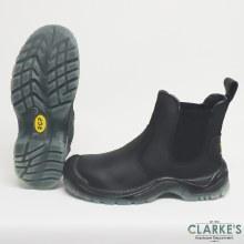 RGP Black Dealer Safety Boots