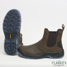 RGP Brown Leather Dealer Boots