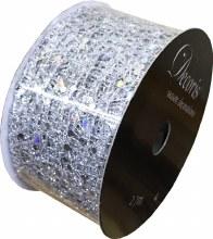 Silver Dots 3.8x270cm
