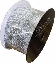 Ribbon Silver Stripe 3.8x270cm