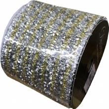Ribbon Gold/Silver 6.4x270cm