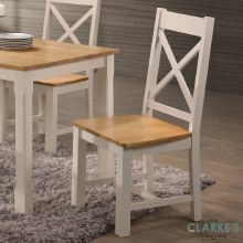 Rochester cream dining chair