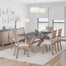 Rockhampton Dining Set. Table and 6 Chairs