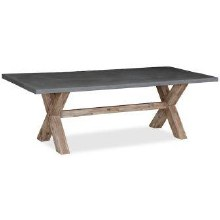 Rockhampton Concrete Top Dining Table 190cm