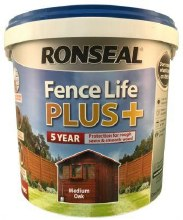 Ronseal Fence Life Plus Medium Oak 5L