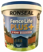 Ronseal Fence Life Plus Midnight Blue 5L