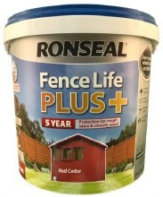 Ronseal Fence Life Plus Red Cedar 5L