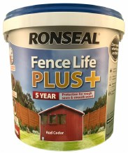 Ronseal Fence Life Plus Dark Oak 5L