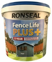 Ronseal Fence Life Plus Sage 5L