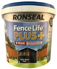 Ronseal Fence Life Plus Tudor Black Oak 5L