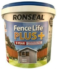 Ronseal Fence Life Plus Warm Stone 5L