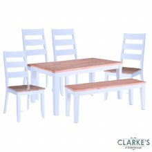 Rona Grey/Oak Dining Set