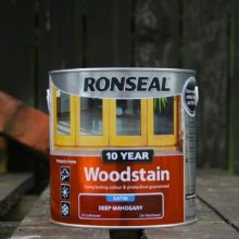 Ronseal Deep Mahogany 10 Year Woodstain 750 ml