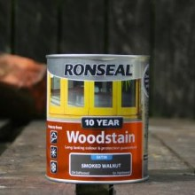 Ronseal Smoked Walnut 10 Year Woodstain 750 ml