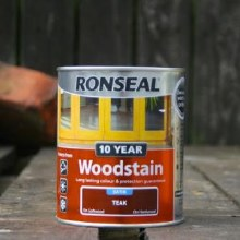 Ronseal Teak 10 Year Woodstain 750 ml