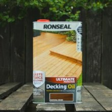 Ronseal Natural Cedar Ultimate Protection Decking Oil 5 Litres