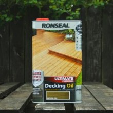 Ronseal Natural Oak Ultimate Protection Decking Oil 5 Litres