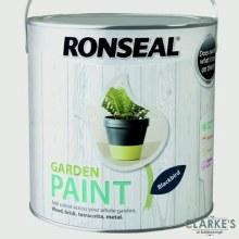 Ronseal Garden Paint Blackbird 2.5 Litre