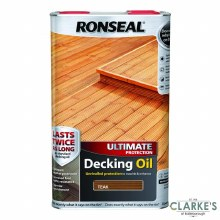 Ronseal Teak Ultimate Protection Decking Oil 5 Litres