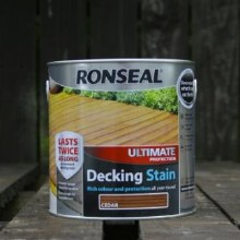 Ronseal Cedar Ultimate Protection Decking Stain 2.5 Litre