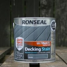 Ronseal Slate Ultimate Protection Decking Stain 2.5 Litre