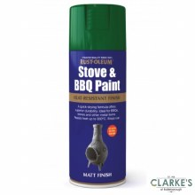 Rust-Oleum Stove and BBQ Paint Green 400 ml