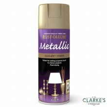 Rust-Oleum Metallic Spray Paint Gold 400 ml