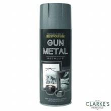 Rust-Oleum Gun Metal Metallic Spray Paint 400 ml