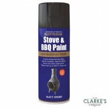 Rust-Oleum Stove and BBQ Paint Black 400 ml