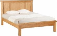Salisbury Oak panelled 4ft6 bed frame