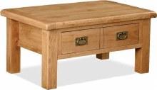 Salisbury Oak Coffee Table with Drawers