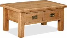 Salisbury Oak Coffee Table with Drawers