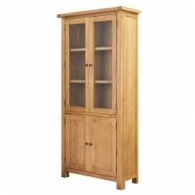 Salisbury Oak Large Display Cabinet