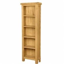 Salisbury Oak Slim Bookcase