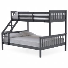 Salix Triple Bunk Bed White