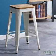Seattle contemporary bar stool cream