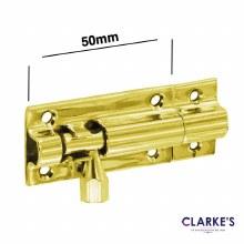 Brass Door Bolt 50mm