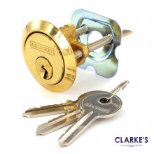 Polished Brass Universal Spare Cylinder Lock