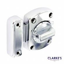 Chrome Thumb Lock 40 x 55mm