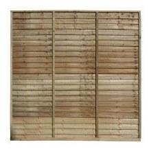 Shiplap Fence Panel 1.8 x 1.8m