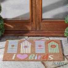 Bird Lover - Outdoor Decoir Door Mat 75 x 45cm