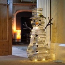 Frosty McSparkle - LED Lit Christmas Figure 62 cm