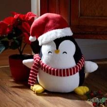 Puppa Penguin Doorstop Christmas Decoration