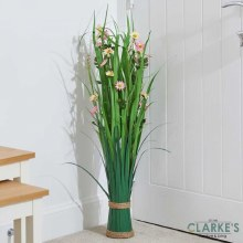 Blushing Blossom - Faux Flower Bouquet 90 cm