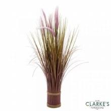 Lilac Grass Tails - Faux Flower Bouquet 70cm